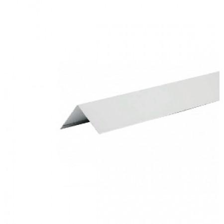 Уголок металлический внешний Hauberk Серый ПЭ - фото