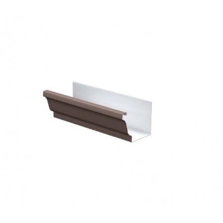 Желоб водосточный Металл Профиль 120х86х3000 0,5 мм ПЭ - фото #1