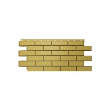 Фасадная панель Nordside Гладкий кирпич Желтый - фото
