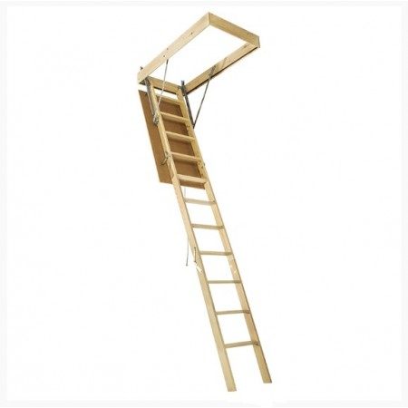 Чердачная лестница DACHA 60*120*280 см - фото #1