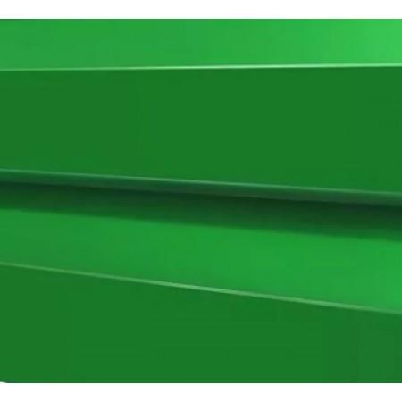 Металлический сайдинг МП 14х226 NormanMP RAL 6019 - фото #1
