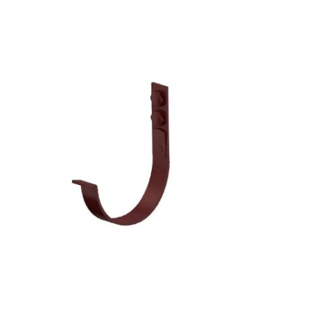 Держатель желоба карнизный Металл Профиль D125х132 3 мм ПО - фото #1