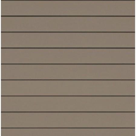 Фиброцементный сайдинг (панель) Cedral Белая глина С14 гладкий