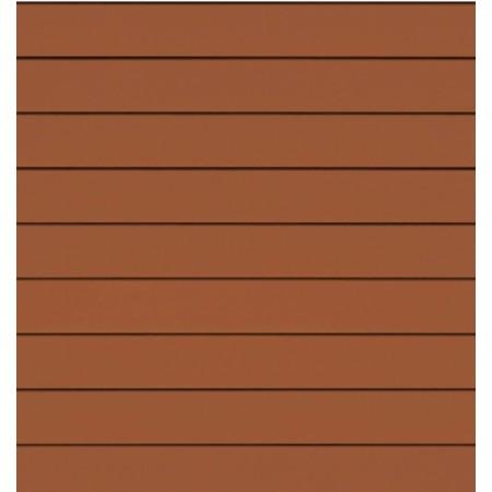 Фиброцементный сайдинг (панель) Cedral Бурая земля С32 гладкий