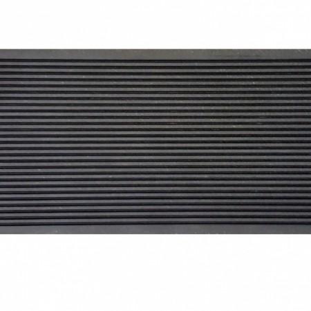 Террасная доска OLYMPIYA (Шовная) Антрацит-серый - фото