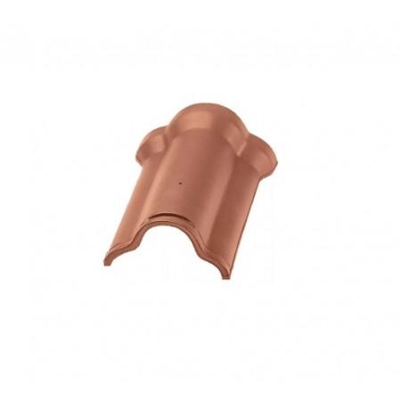 Коньковая черепица Braas Саттель с зажимом Рубин 11V - фото #1