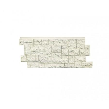 Фасадная панель NordSide Северный камень Белый - фото #1