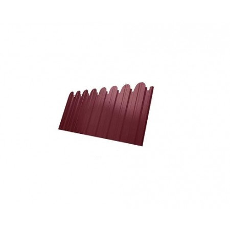 Профнастил С10A фигурный Полиэстер 0,45 сталь RAL 3003 - фото #1