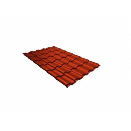 Металлочерепица Кредо 0,45 Polyester RAL 2004 Оранжевый - фото #1