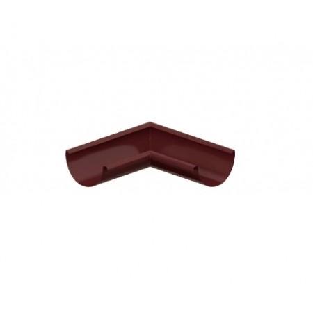 Угол желоба внутренний Металл Профиль D125 0,6 мм ПЛД - фото