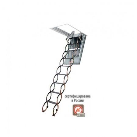 Чердачная лестница Fakro ножничная металлическая 60*90 LSF300 - фото #1