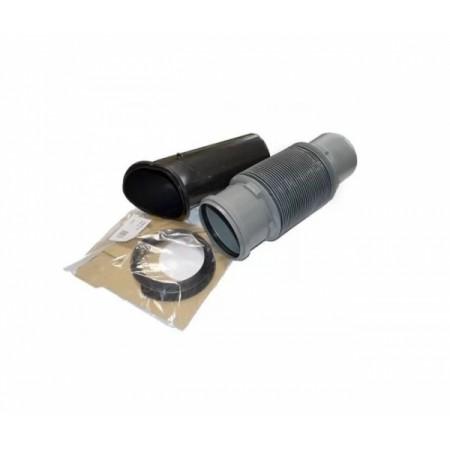 Комплект для подключения вентиляционных стояков к проходу через кровлю 125 мм Braas Адриа - фото #1