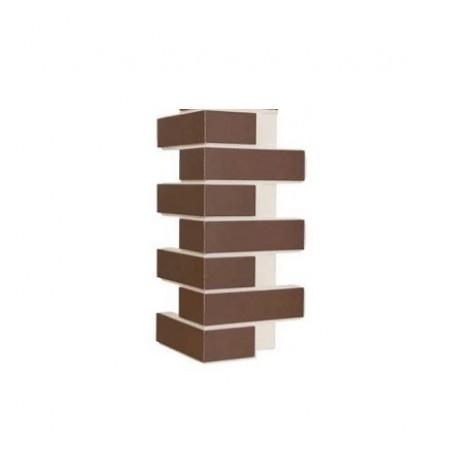 Угловой элемент внешний Natural braun struktur - фото #1