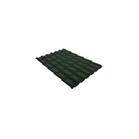 Металлочерепица Классик 0,45 Drap RAL 6020 Хромовая зелень - фото