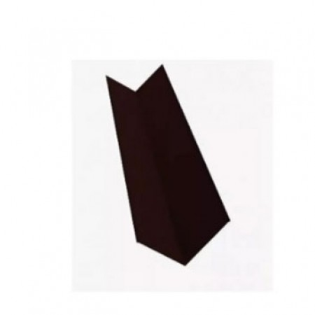 Планка ендовы верхняя простая 145х145х2000 МеталлПрофиль VikingMP Е - фото #1