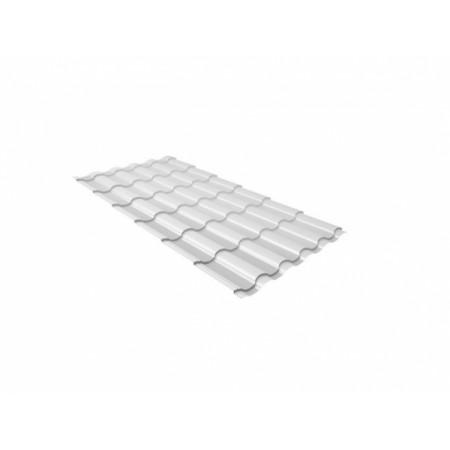 Металлочерепица Кредо 0,45 Polyester RAL 9003 Сигнальный белый - фото #1
