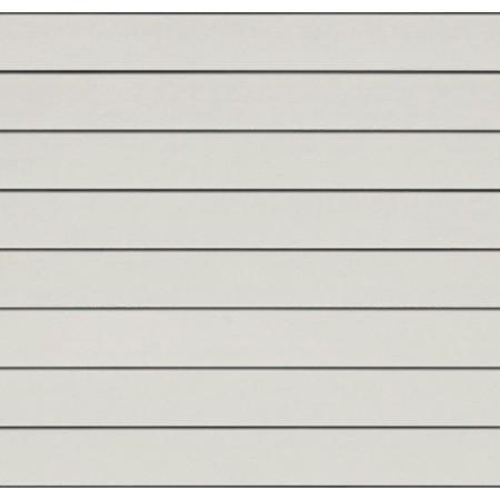 Фиброцементный сайдинг (панель) Cedral Белый минерал С01 гладкий