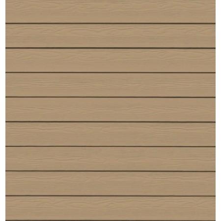 Фиброцементный сайдинг (панель) Cedral Золотой песок С11 под дерево - фото #1