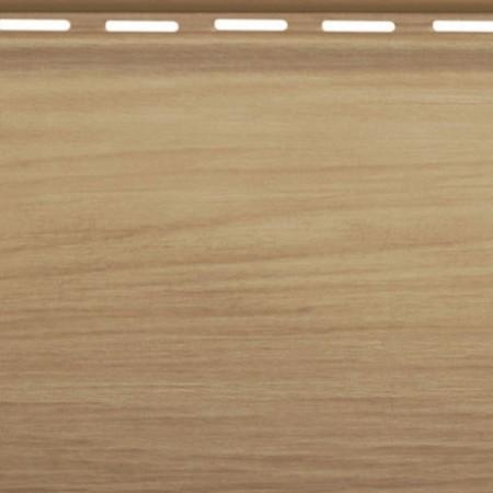 Сайдинг виниловый Альта профиль Карелия BlockHouse одинарный BH-01 (3,10 х 0,2м) Каштан - фото