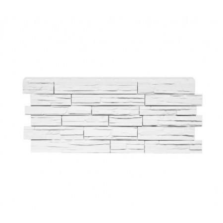 Фасадная панель Nordside Сланец Белый - фото