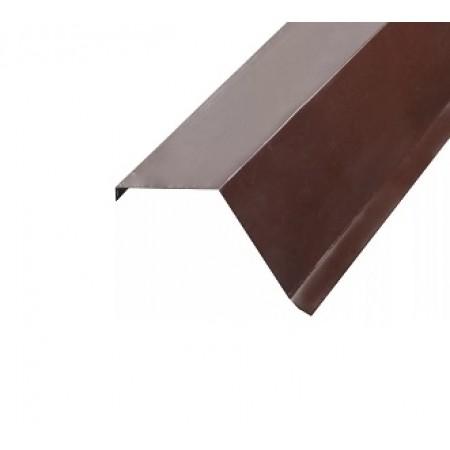 Планка торцевая 95х120х2000 МеталлПрофиль 0,45 Полиэстер - фото