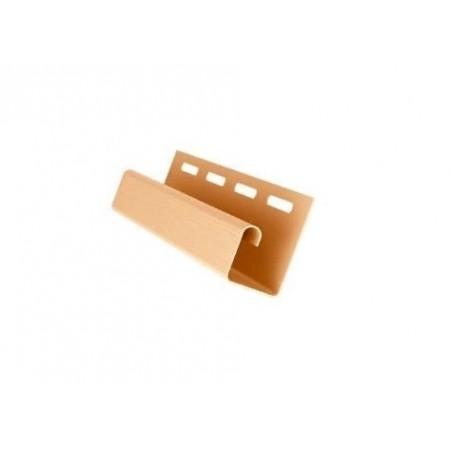 Профиль J 3,00 GL Золотой песок - фото #1