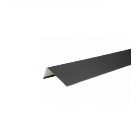 Наличник оконный металлический Hauberk Темно-серый - фото #1
