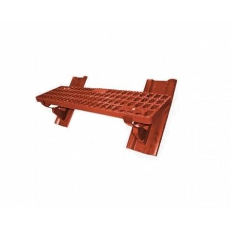 Комплект безопасной подножки 88х25 см Braas Янтарь - фото #1