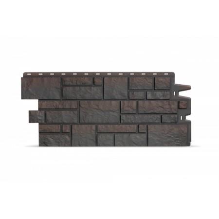 Фасадная (цокольная) панель Docker BURG Темный - фото