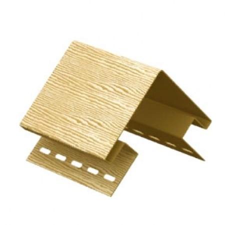 Наружный угол Ю-пласт Тимберблок Дуб Золотой - фото #1