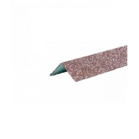 Уголок металлический внешний Hauberk Мраморный - фото #1