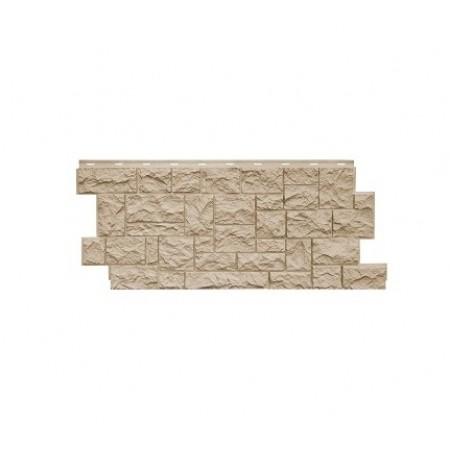 Фасадная панель NordSide Северный камень Перламутрово-бежевый - фото