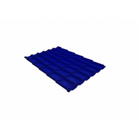 Металлочерепица Кредо 0,45 Polyester RAL 5002 Ультрамариново-синий - фото #1
