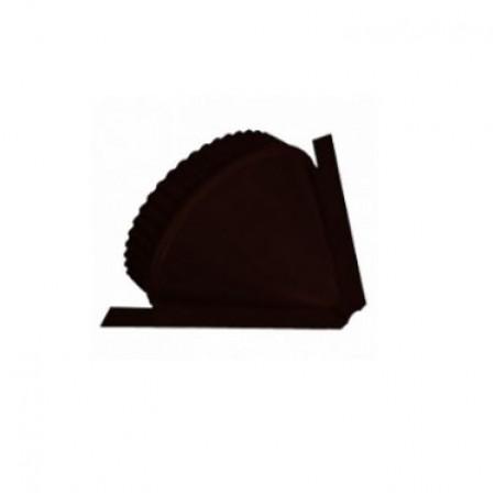 Заглушка конька круглого конусная МеталлПрофиль VikingMP Е - фото #1