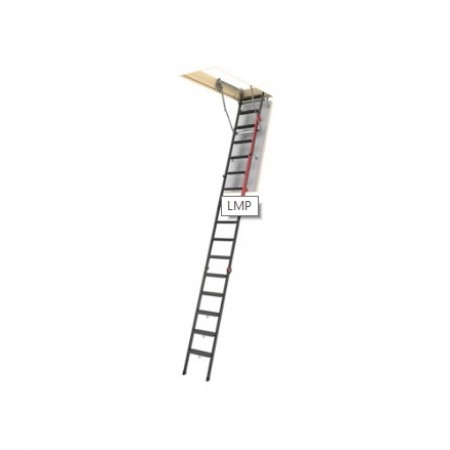 Лестница складная металлическая LMP 70*144*366 - фото #1