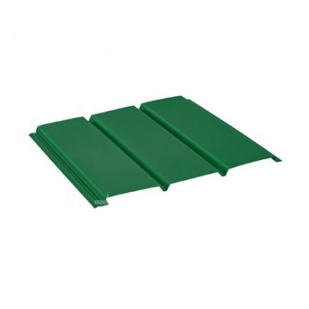 Софит стальной без перфорации Pural Зеленый RAL6005 - фото