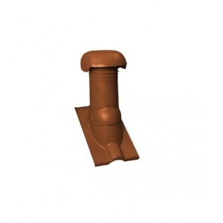 Изолированный комплект для прохода через кровлю вентиляционных стояков 125 мм Braas Янтарь - фото #1