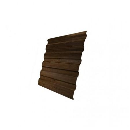 Профнастил С20В Print-Double Antique Wood - фото #1