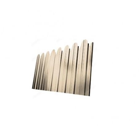 Профнастил С10A фигурный Zn 0,5 - фото