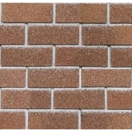 Фасадная плитка Hauberk Красный кирпич - фото
