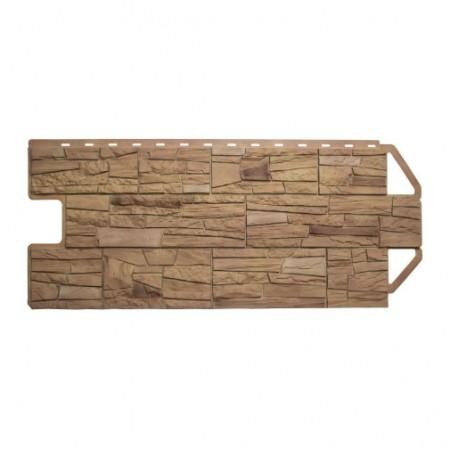 Фасадная (цокольная) панель Альта Профиль Комби Каньон Невада - фото #1