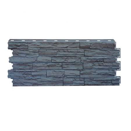 Фасадная панель Сланец Серый - фото