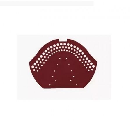 Коньковый керамический торцевой элемент Braas Рубин 11V - фото #1