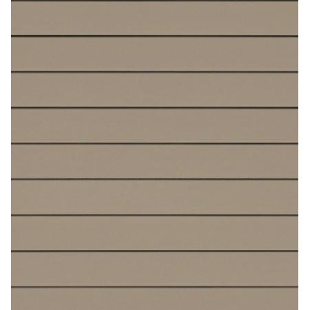Фиброцементный сайдинг (панель) Cedral Белый песок С03 гладкий