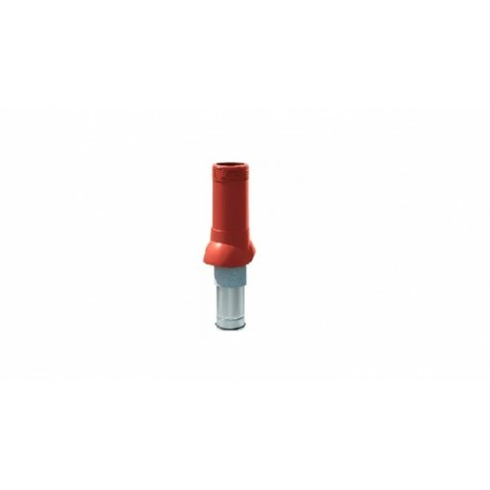 Вентиляционный выход изолированный ТехноНиколь D125/160 красный - фото #1
