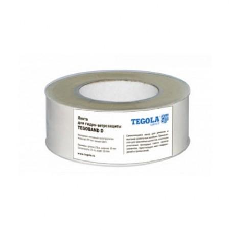 Кровельная лента для гидро-ветро защиты Tegola TEGOBAND D - фото