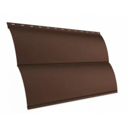 Металлический сайдинг GL Блок-хаус new Drap - фото #1