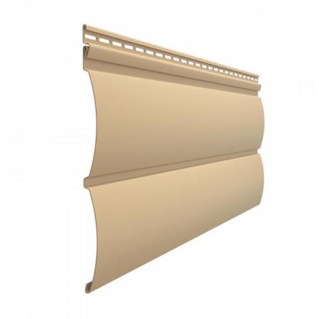 Сайдинг Docke Premium D4,7Т (Блок-хаус) Карамель - фото