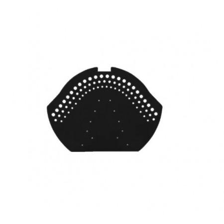Коньковый керамический торцевой элемент Braas Топаз 13V - фото #1