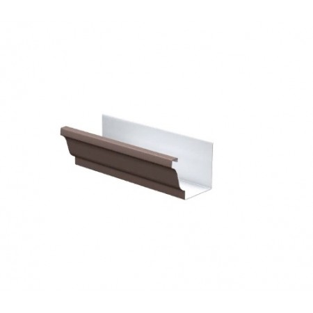 Желоб водосточный Металл Профиль 120х86х3000 0,5 мм ПЛ - фото #1